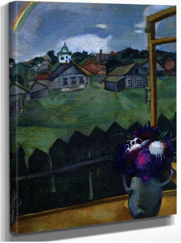 Window Vitebsk 1908 By Marc Chagall