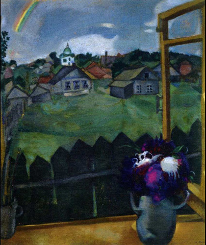Window Vitebsk 1908 By Marc Chagall Art Reproduction from Wanford