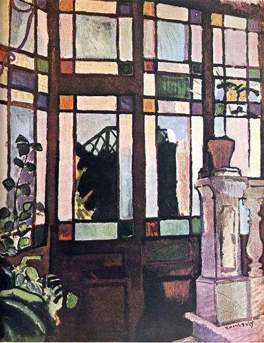 Window With Coloured Glasses 1906 By Dufy Raoul Art Reproduction from Wanford