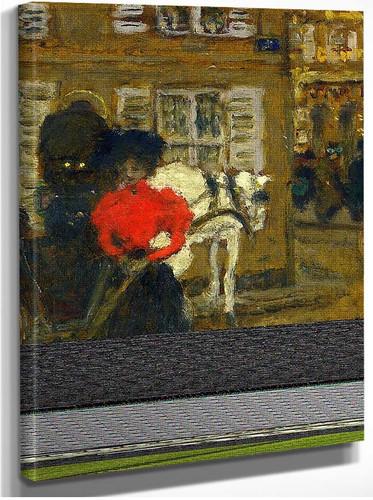 Woman On The Street 1894 By Pierre Bonnard