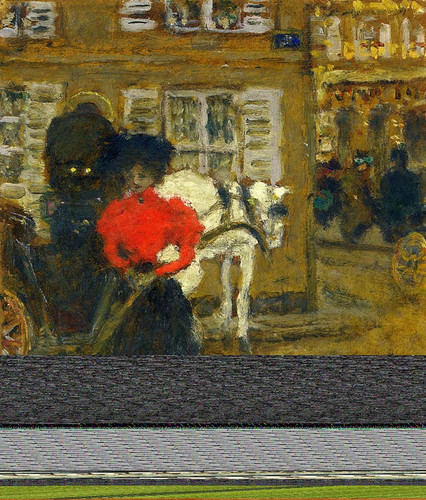 Woman On The Street 1894 By Pierre Bonnard Art Reproduction from Wanford