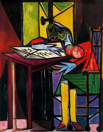 Woman Reading 1935 By Pablo Picasso Art Reproduction from Wanford