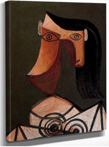 Woman S Head 1939 By Pablo Picasso