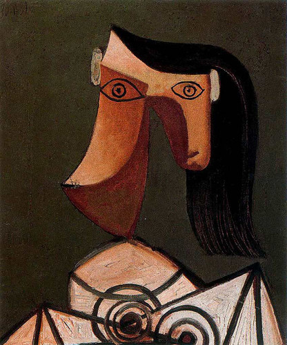 Woman S Head 1939 By Pablo Picasso Art Reproduction from Wanford