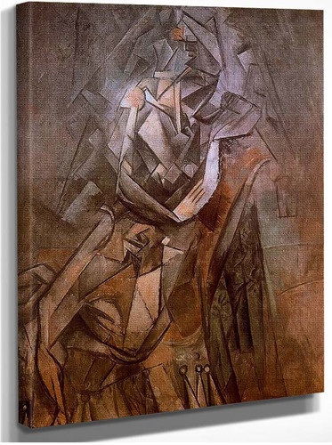 Woman Sitting In An Armchair By Pablo Picasso