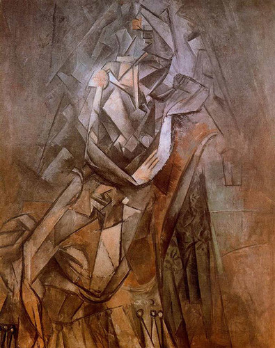 Woman Sitting In An Armchair By Pablo Picasso Art Reproduction from Wanford