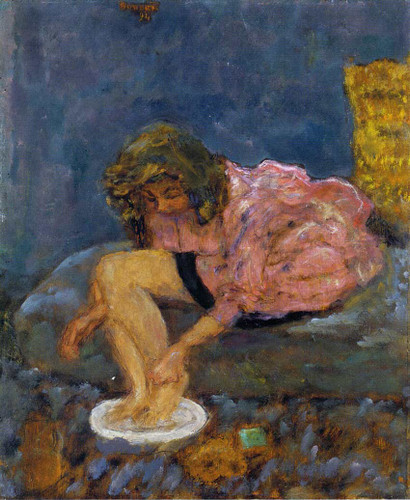 Woman Washing Her Feet 1894 By Pierre Bonnard Art Reproduction from Wanford