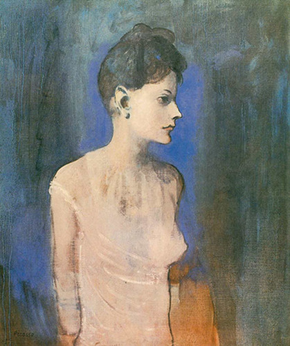 Woman Wearing A Chemise2 By Pablo Picasso Art Reproduction from Wanford