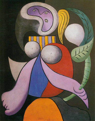 Woman With A Flower By Pablo Picasso Art Reproduction from Wanford