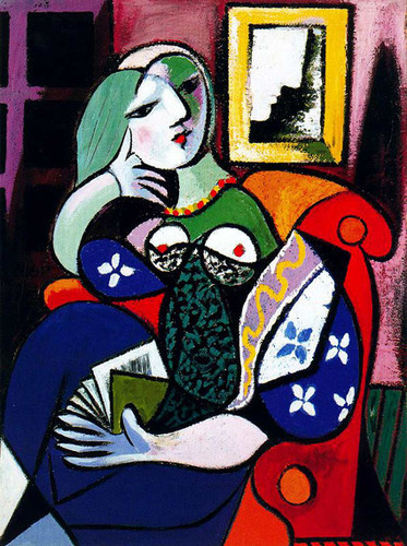 Woman With Book 1932 By Pablo Picasso Art Reproduction from Wanford