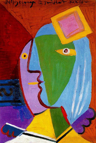 Woman With Cap 1934 By Pablo Picasso Art Reproduction from Wanford