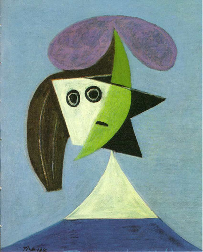 Woman With Hat Olga 1935 By Pablo Picasso Art Reproduction from Wanford