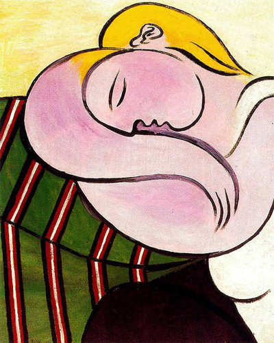 Woman With Yellow Hair 1931 By Pablo Picasso Art Reproduction from Wanford