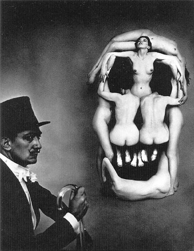 Women Forming A Skull By Salvador Dali Art Reproduction from Wanford