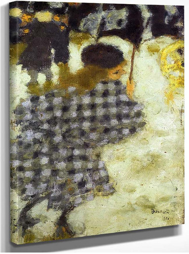 Young Girl With Umbrella 1894 By Pierre Bonnard