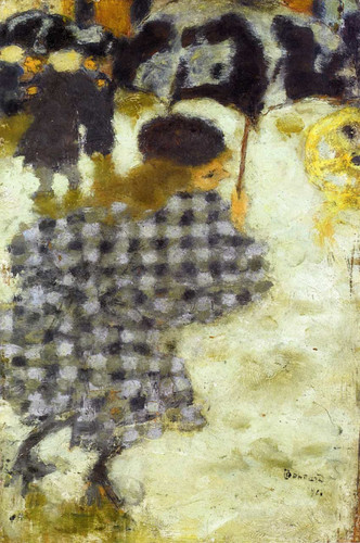 Young Girl With Umbrella 1894 By Pierre Bonnard Art Reproduction from Wanford