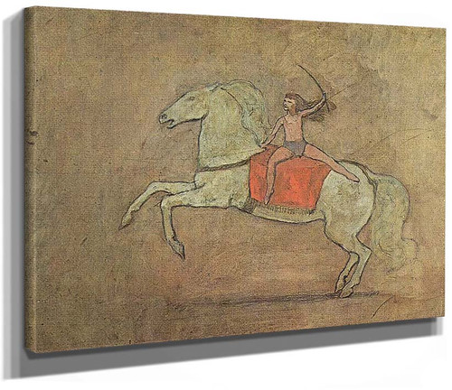 A Horsewoman 1905 By Pablo Picasso