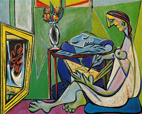 A Muse 1935 By Pablo Picasso