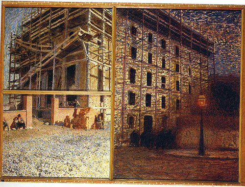 A Worker S Day 1904 By Giacomo Balla