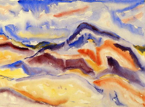 Abstract Landscape By Charles Demuth