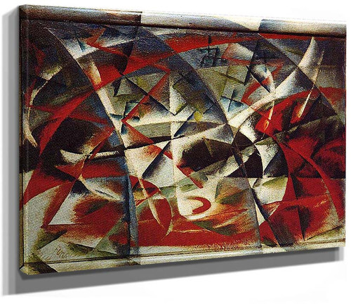 Abstract Speed Sound 1914 By Giacomo Balla