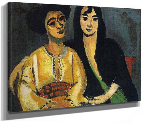 Aicha And Laurette 1917 By Henri Matisse