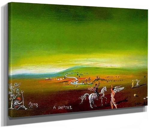 Ampurdanese Landscape By Salvador Dali