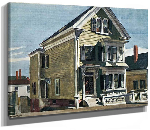 Andersons House By Edward Hopper