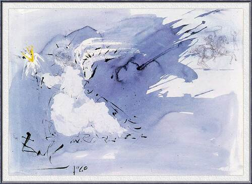 Angel Of Light By Salvador Dali