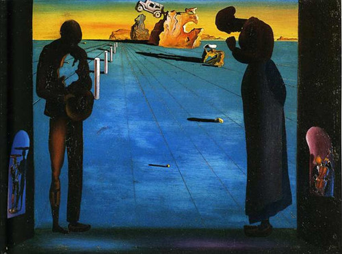 Angelus By Salvador Dali