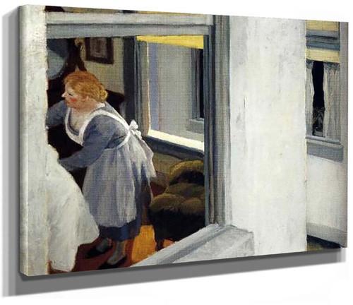 Apartment Houses By Edward Hopper