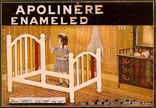 Apolinere Enamelled 1916 By Duchamp Marcel
