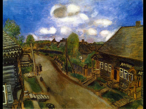 Apothecary In Vitebsk 1914 By Marc Chagall
