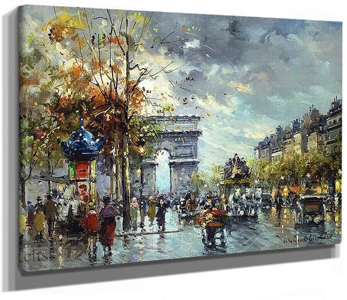 Arc De Triomphe 1 By Antoine Blanchard