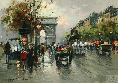 Arc De Triomphe 3 By Antoine Blanchard