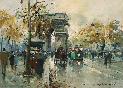 Arc De Triomphe 4 By Antoine Blanchard