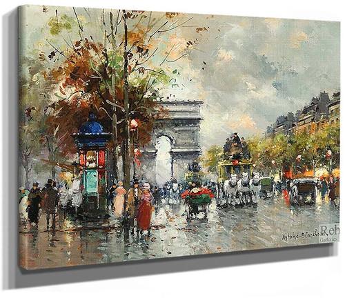 Arc De Triomphe 5 By Antoine Blanchard