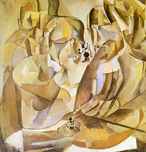 Portrait Of Chess Players 1911 By Duchamp Marcel Art Reproduction from Wanford.