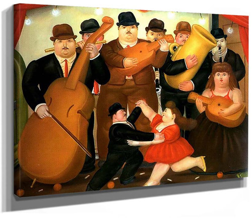 Ball In Colombia By Fernando Botero
