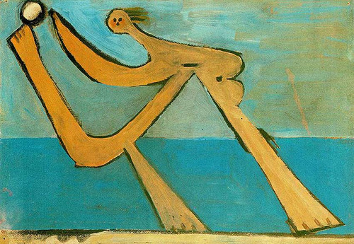 Bather 1928 By Pablo Picasso