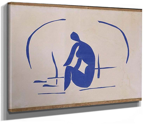 Bather In The Reeds 1952 By Henri Matisse
