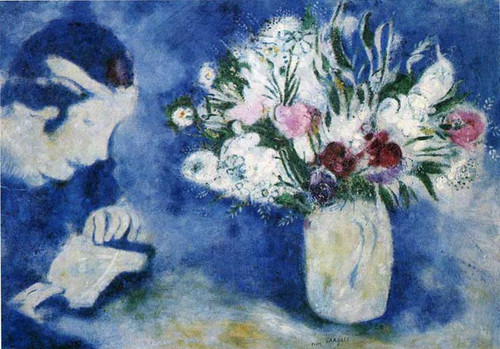 Bella In Mourillon 1926 By Marc Chagall