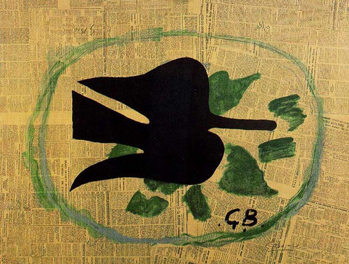 Bird In The Foliage 1961 By Georges Braque