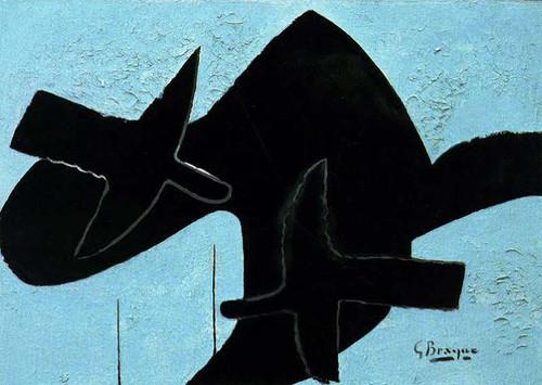 Birds 1957 By Georges Braque