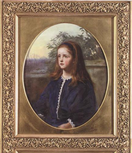 Portrait Of Margaret Fuller Maitland By John Everett Millais Art Reproduction from Wanford.