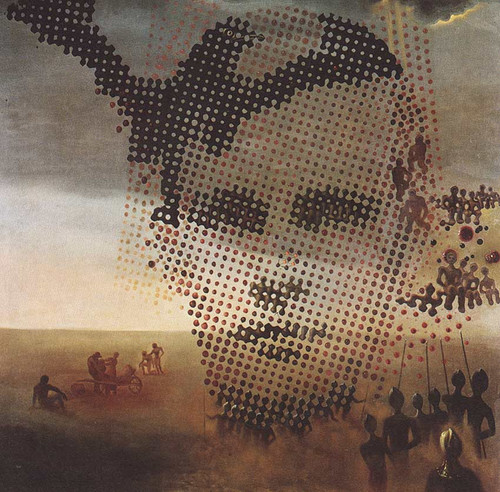 Portrait Of My Dead Brother 1963 By Salvador Dali Art Reproduction from Wanford.