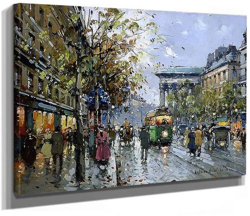 Boulevard De La Madeleine 3 By Edouard Cortes