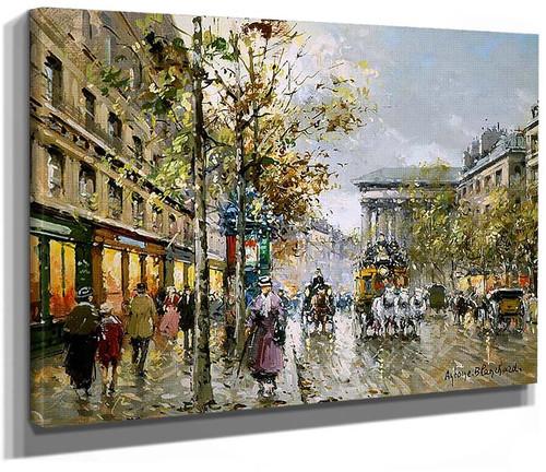 Boulevard De La Madeleine 4 By Edouard Cortes