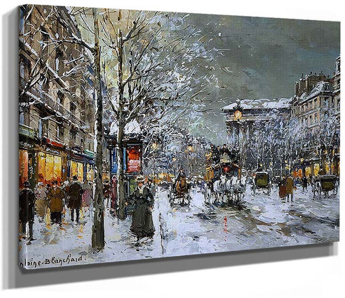 Boulevard De La Madeleine 5 By Antoine Blanchard