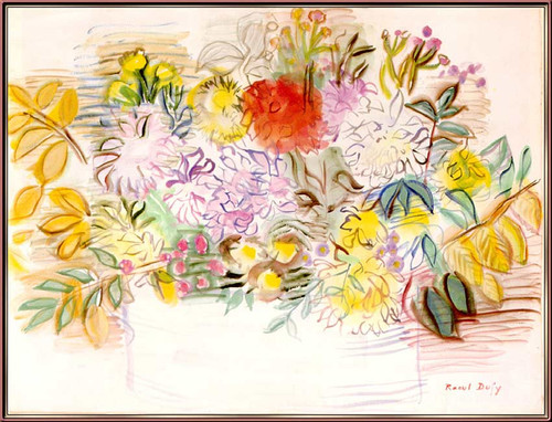 Bouquet Of Flowers By Dufy Raoul